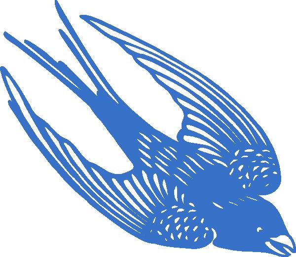 Eagle clipart diving. Blueswallow clip art at