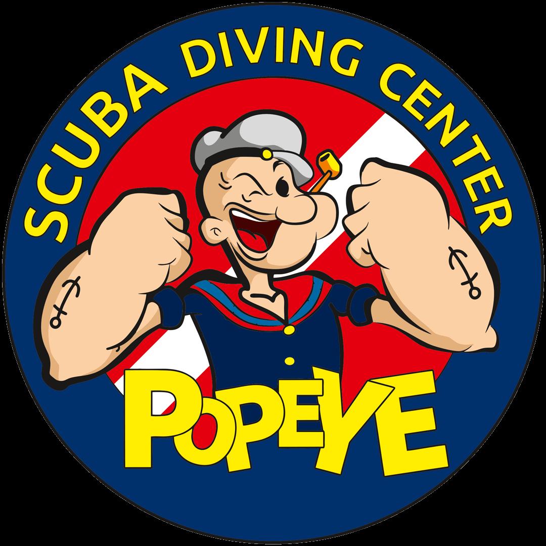 Popeye diving center rateyourdive. Diver clipart commercial diver