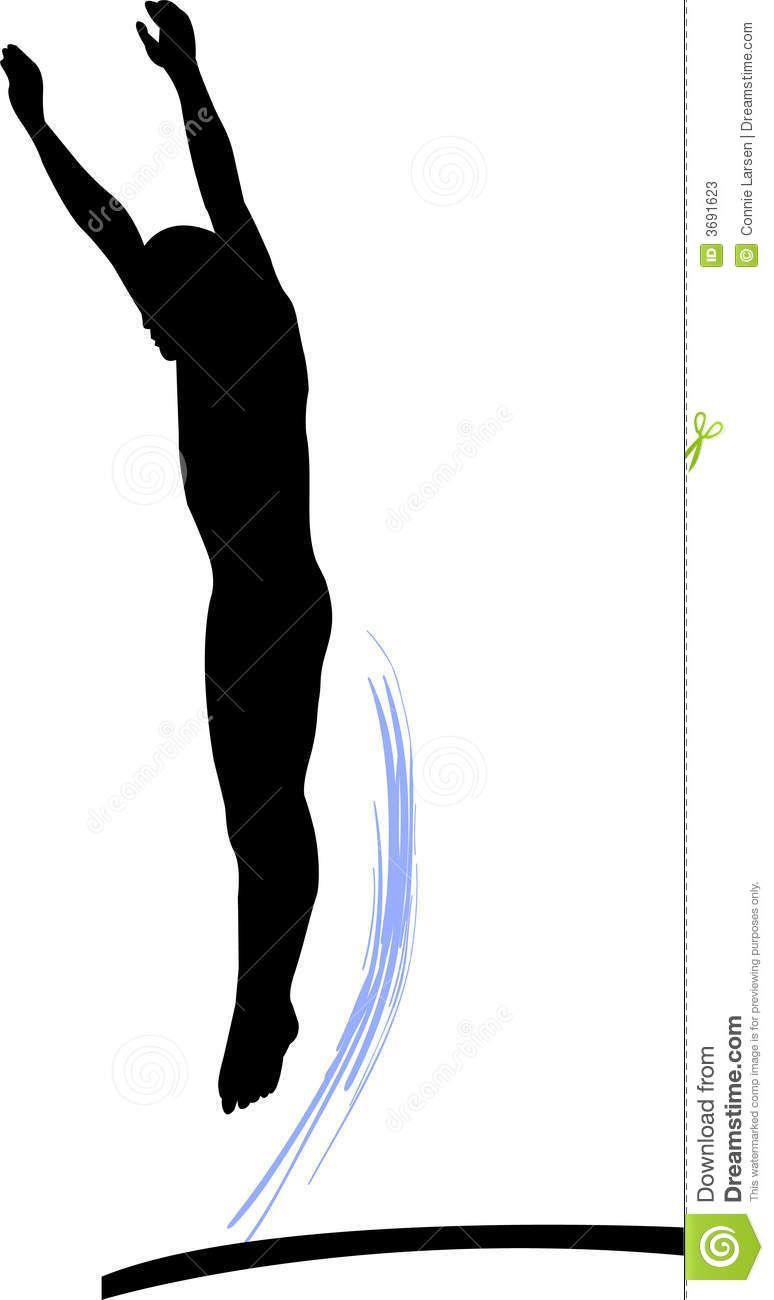 Logo google search dive. Swimmer clipart springboard diving