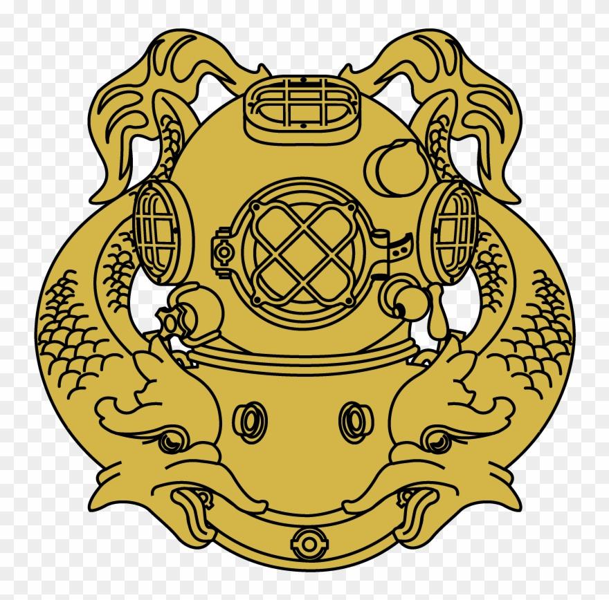 Logo helm png pinclipart. Diver clipart diver navy