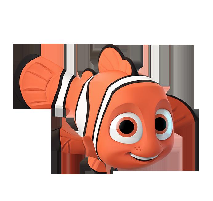 Nemo clipart fish fin. Pinterest ocean party disney