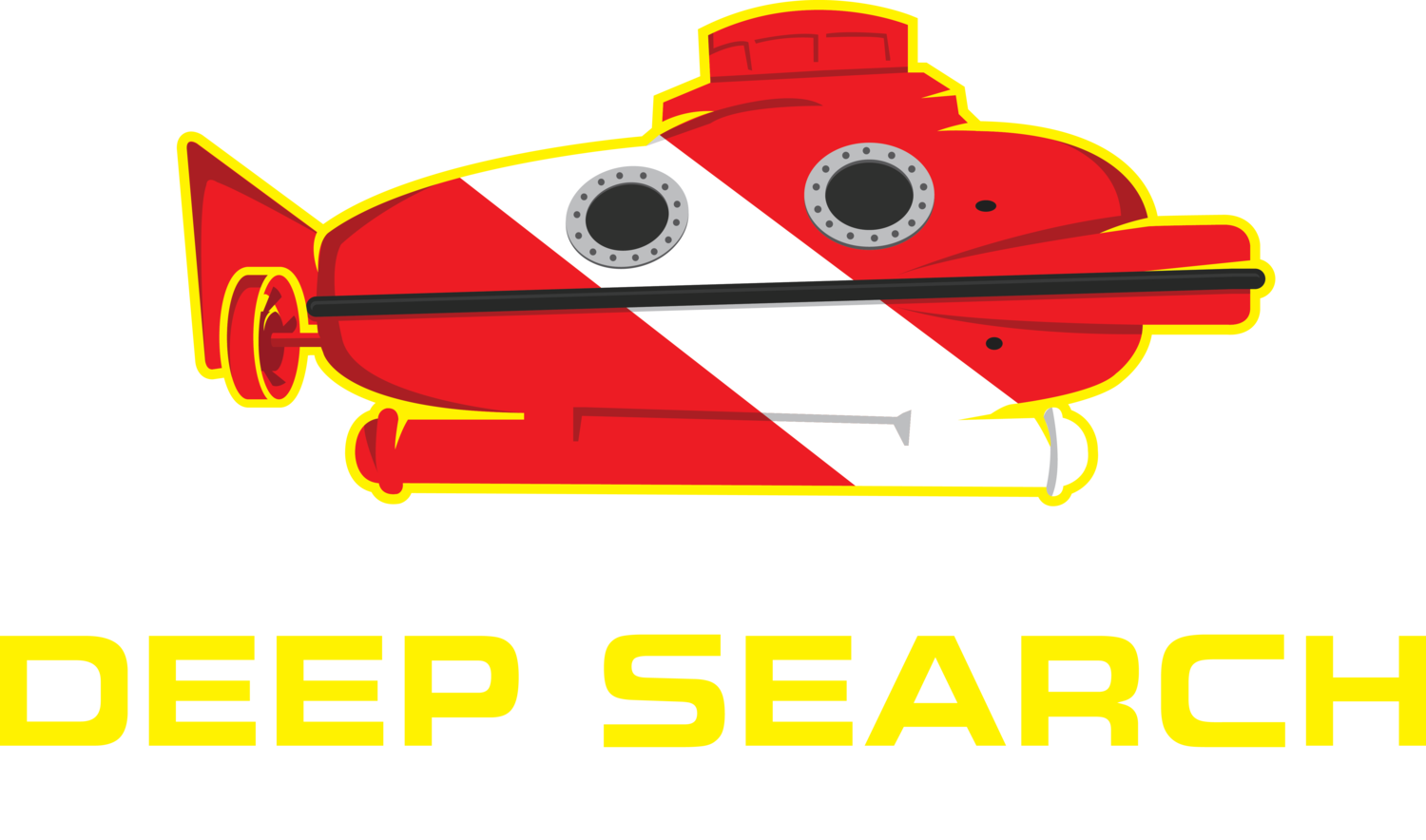 About me deep search. Diver clipart marine science