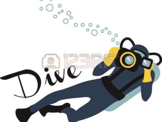 Diver clipart oceanographer. Free scuba download clip