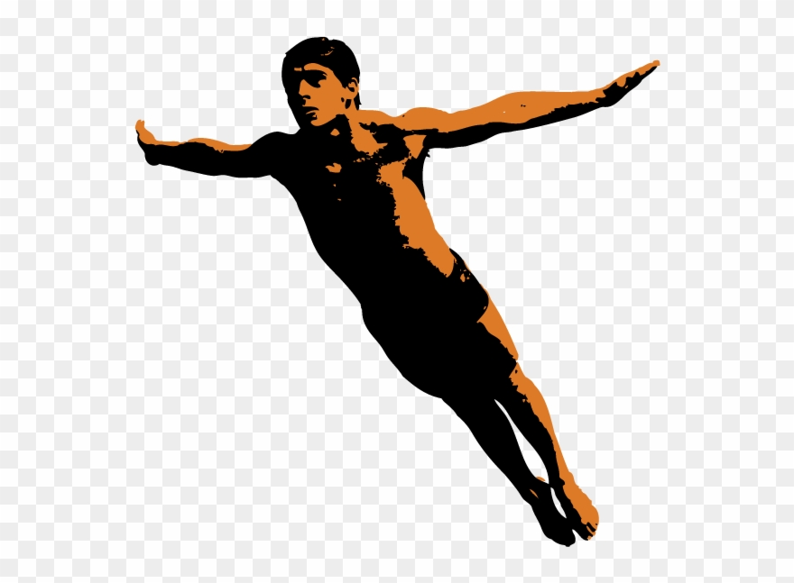 Competitive diving png . Diver clipart olympic diver