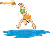 Search results for clip. Diving clipart swimming pool