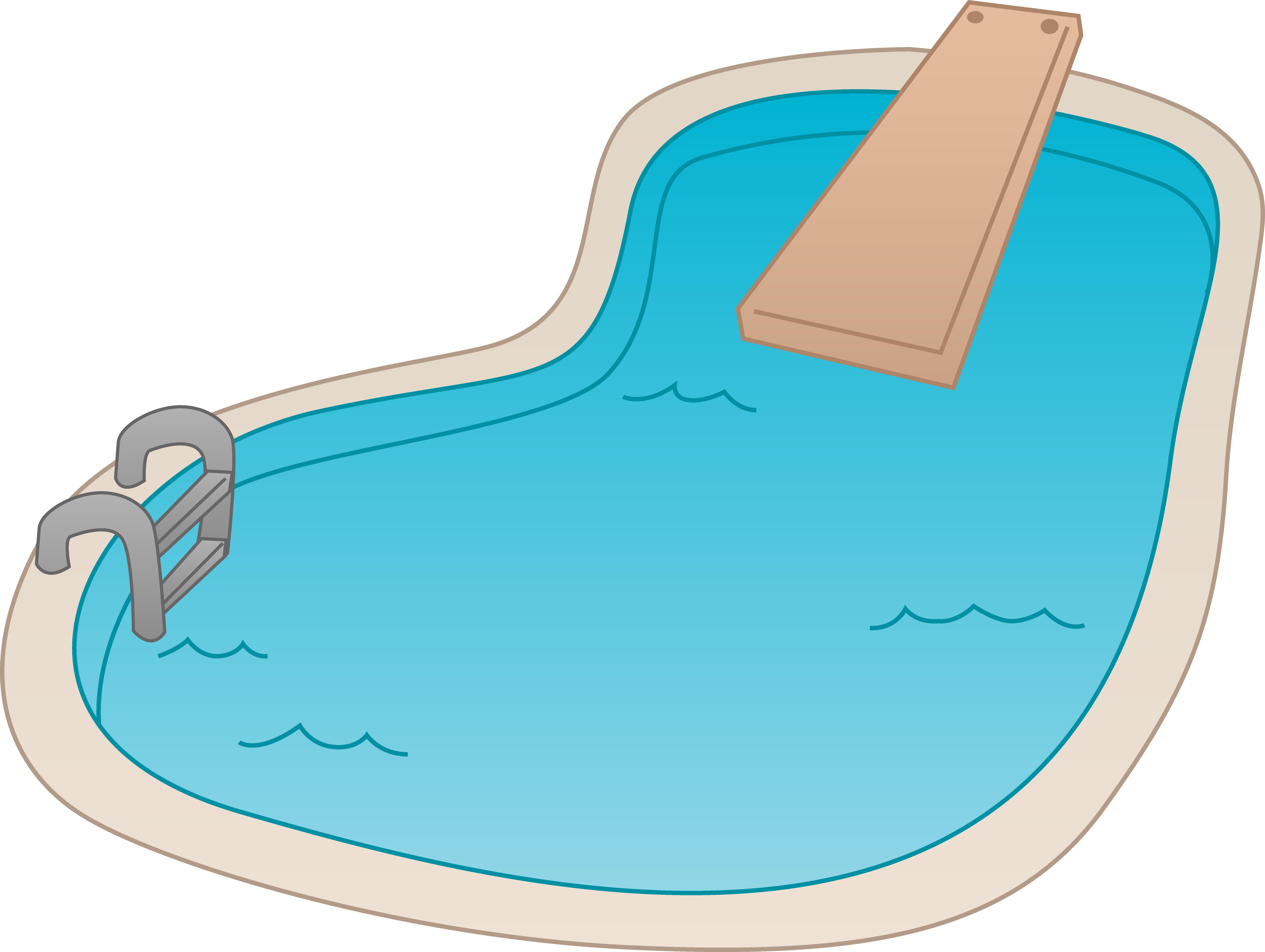 Diver clipart pool. Swimming clip art transprent