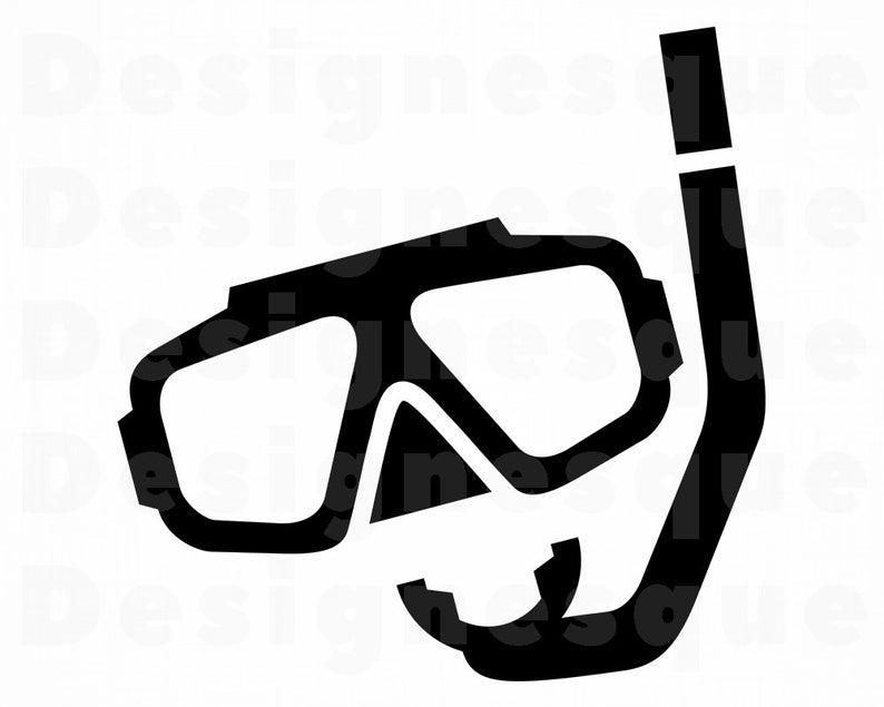 Diver clipart scuba gear. Diving mask svg files