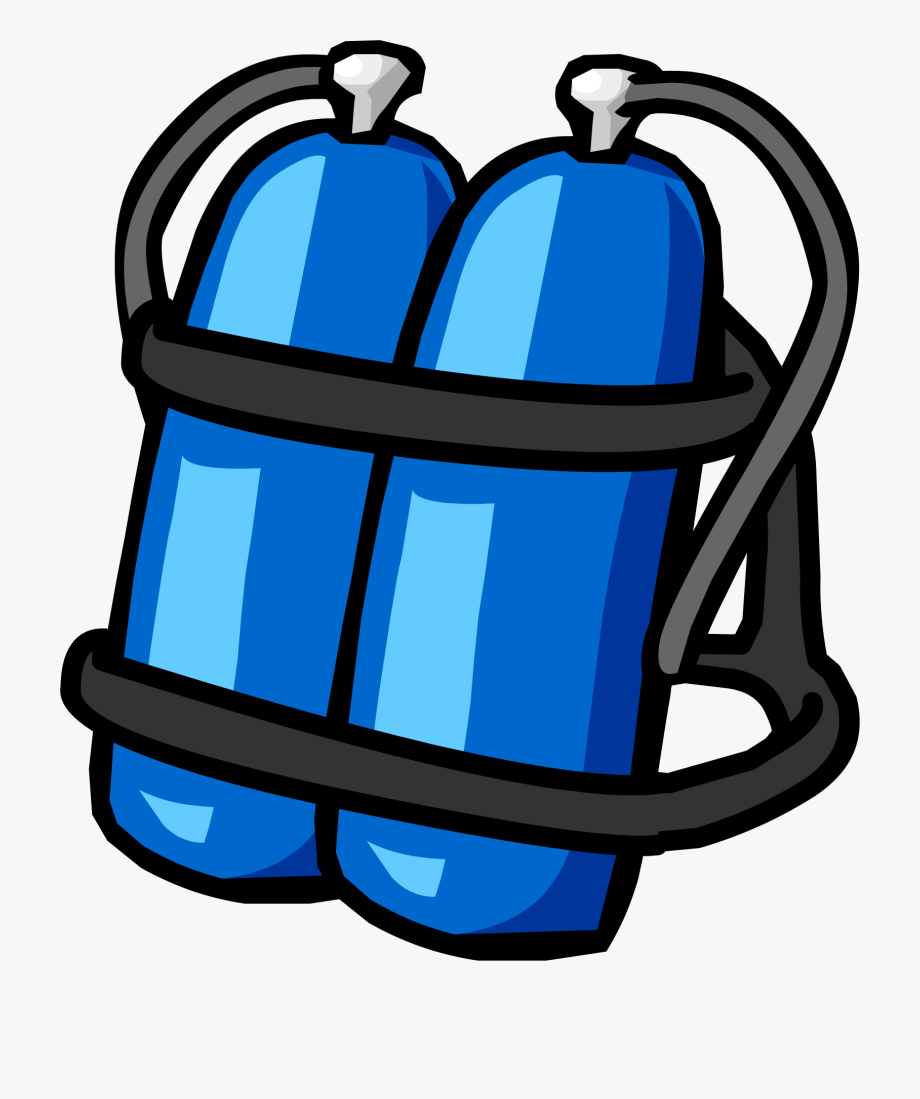 Diver clipart scuba tank. Blue diving free