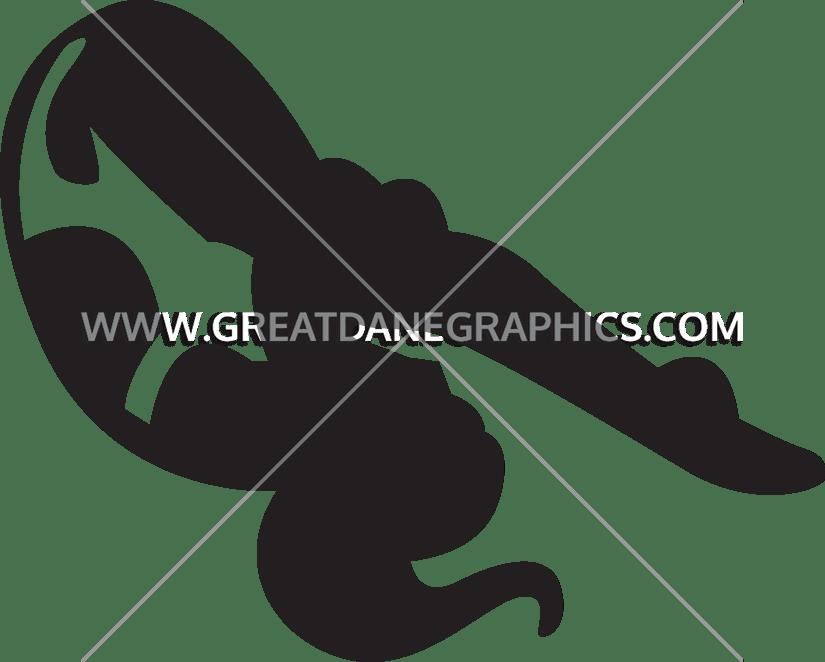 Diver clipart silhouette. Female front flip production