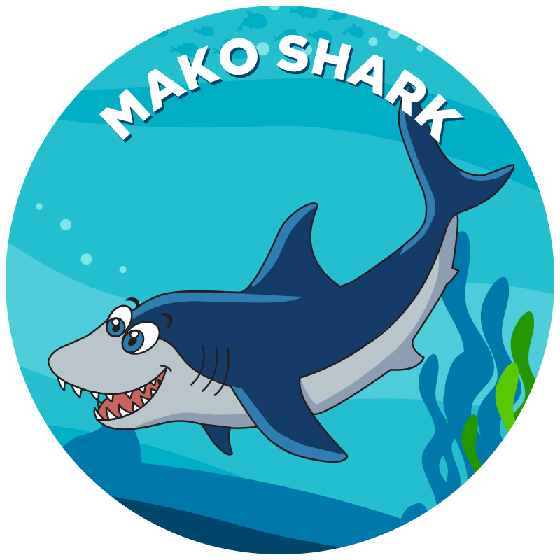 Diver clipart swim with shark. Mako propel academy