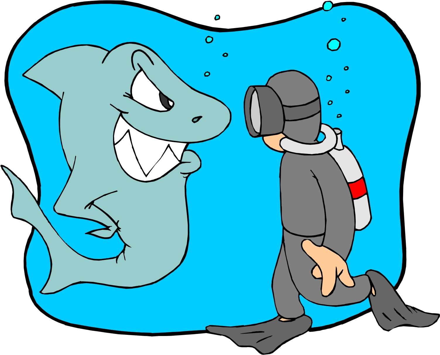 At getdrawings com free. Diver clipart swim with shark