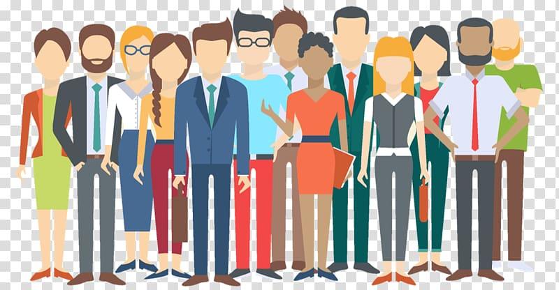 Teamwork clipart diversity. Group of people illustration