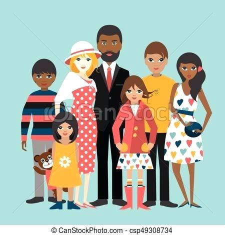 Diversity family learners inspirasia. Employee clipart diverse