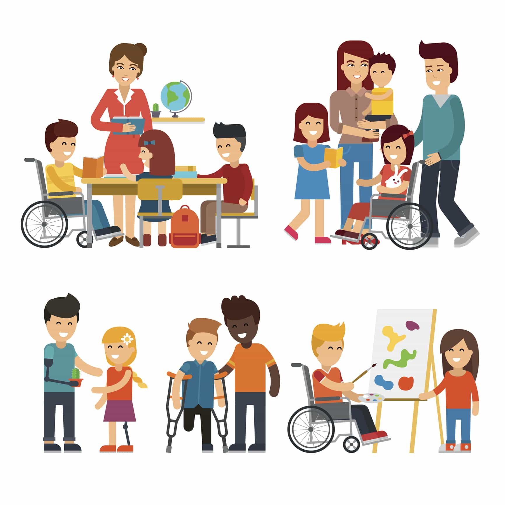 Diversity clipart inclusive classroom. What does inclusion look