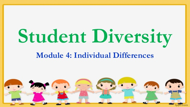 Module differences . Diversity clipart individual difference in learning