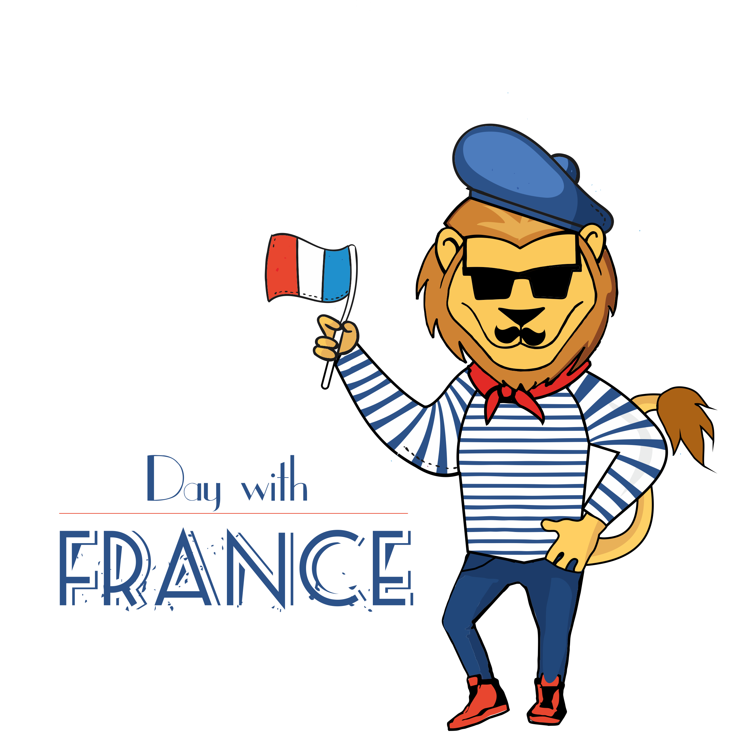 History clipart person france. Day with is coming