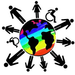 Students with disabilities northeast. Diversity clipart student service