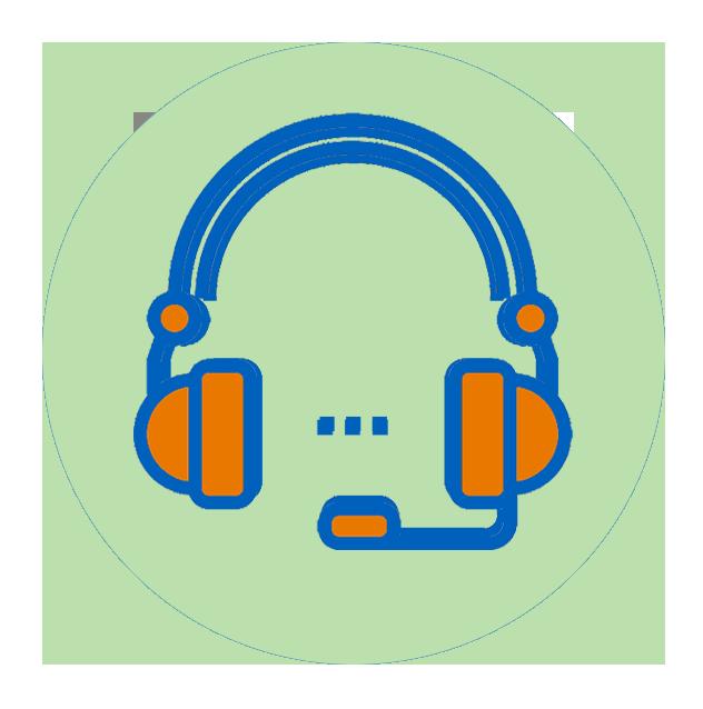 Headphones clipart student centers. Welligent support help login