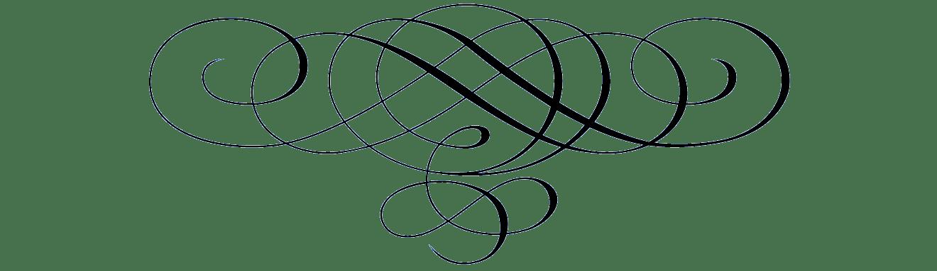 Black arabesque transparent png. Divider clipart design line