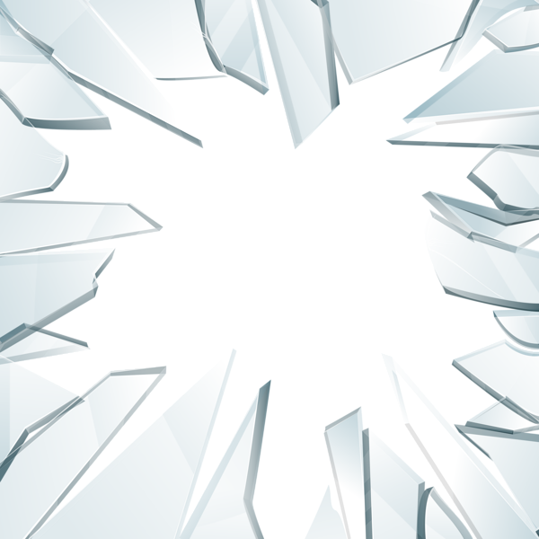 Glass transparent png clip. Staircase clipart broken