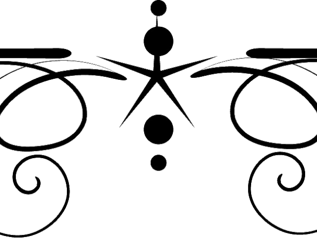 Cliparts x carwad net. Divider clipart filigree