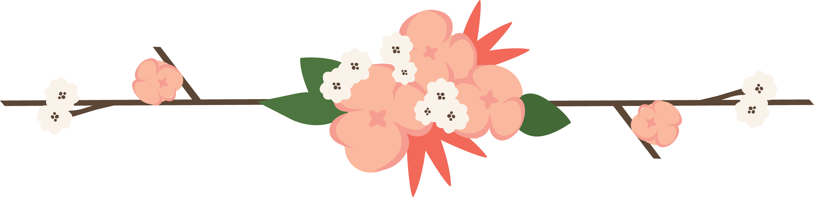 Flower divider png. Images of floral dividers