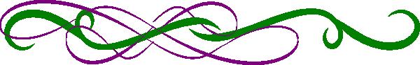 Color clip art at. Divider clipart green