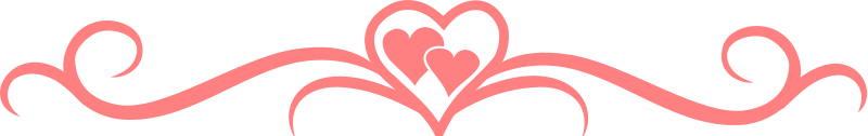 Divider clipart heart. Images gallery for free