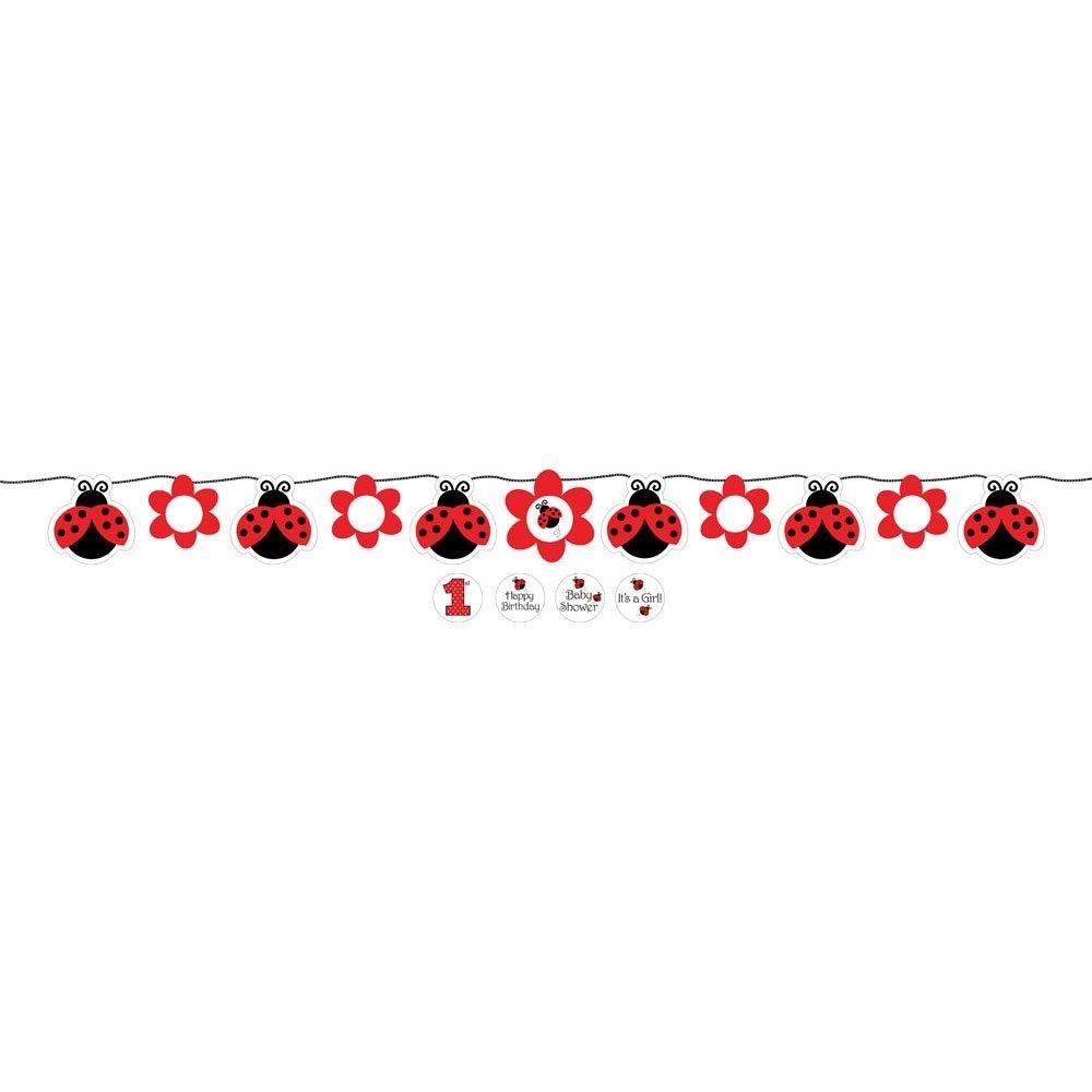 Ladybugs clipart divider. Free ladybug border cliparts