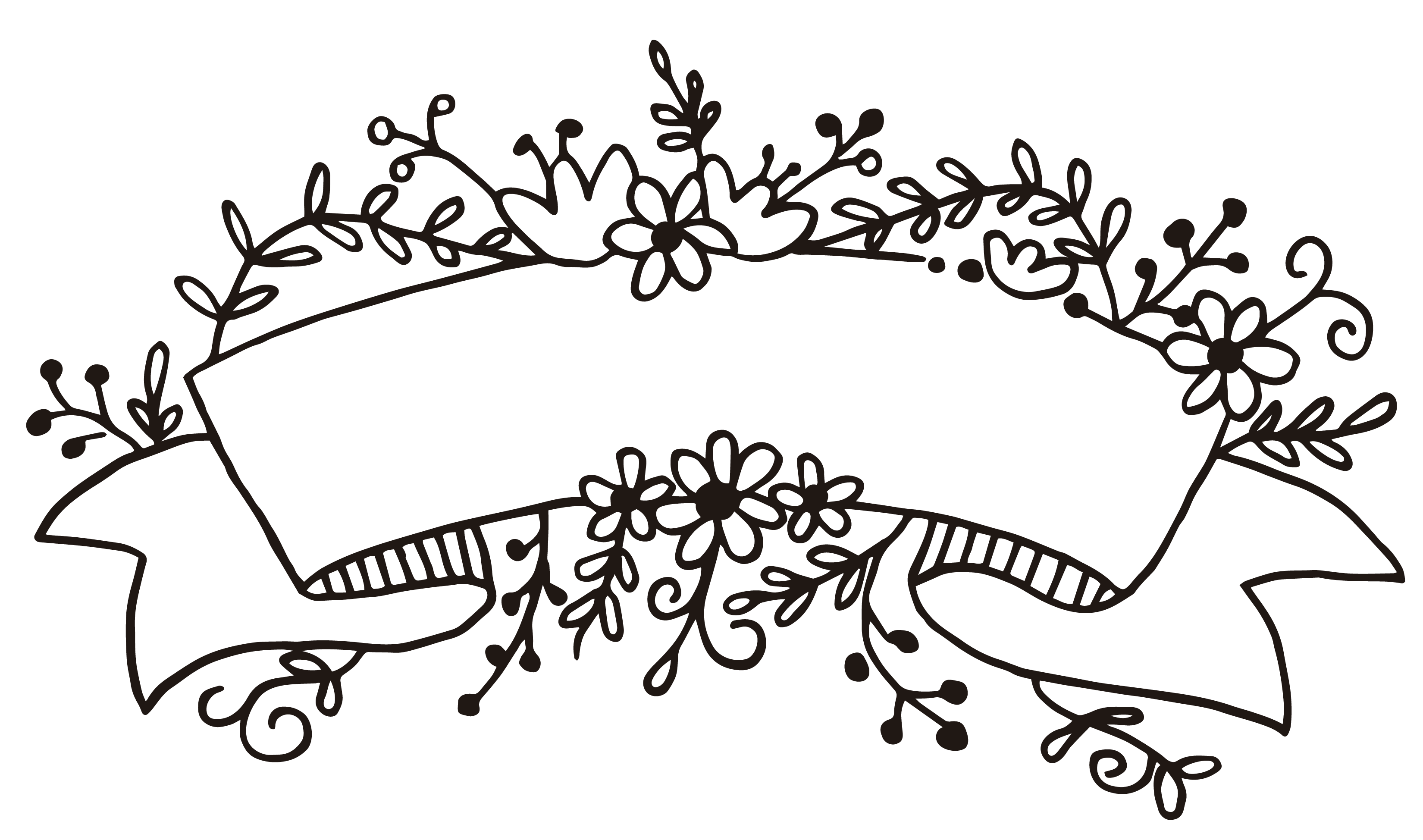 flourish clipart header
