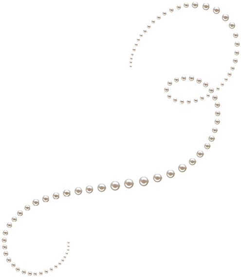 divider clipart pearl