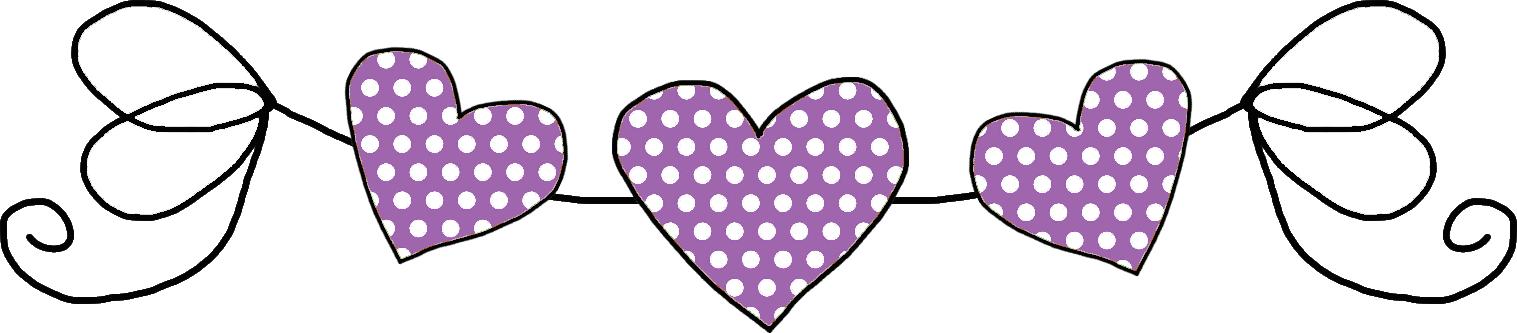 hearts p pinterest. Divider clipart polka dot