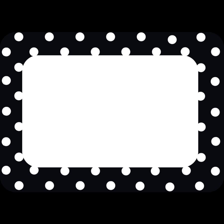 Labels educators at heart. Divider clipart polka dot