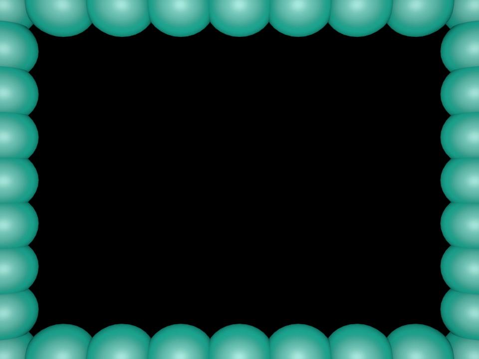 Divider clipart powerpoint. Aqua bubbly pearls rectangular