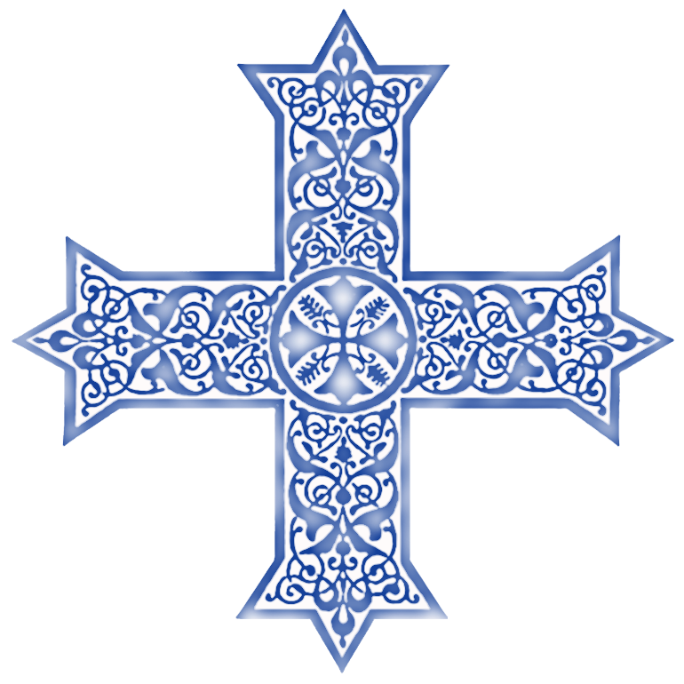 Missions clipart coptic. Crosses in variegated colors