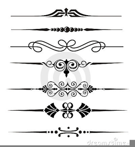 Line free images at. Divider clipart wedding