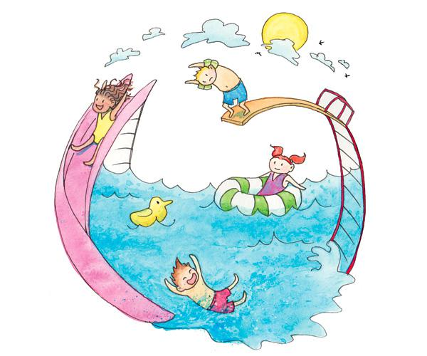 Dive in . Diving clipart aquatic therapy