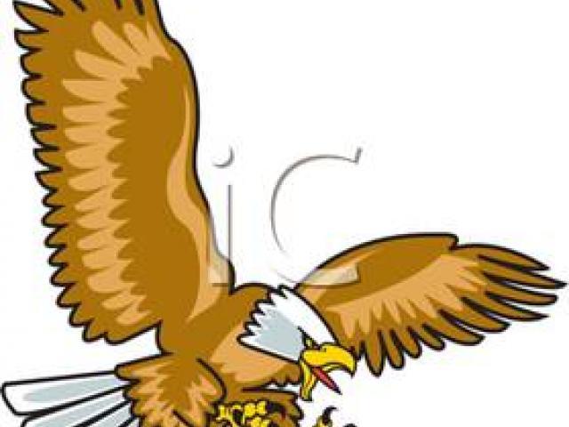 Eagle clipart diving. X free clip art