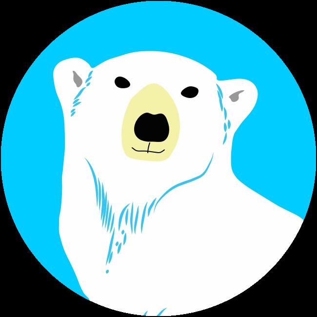 Diving clipart polar bear. Ux collective