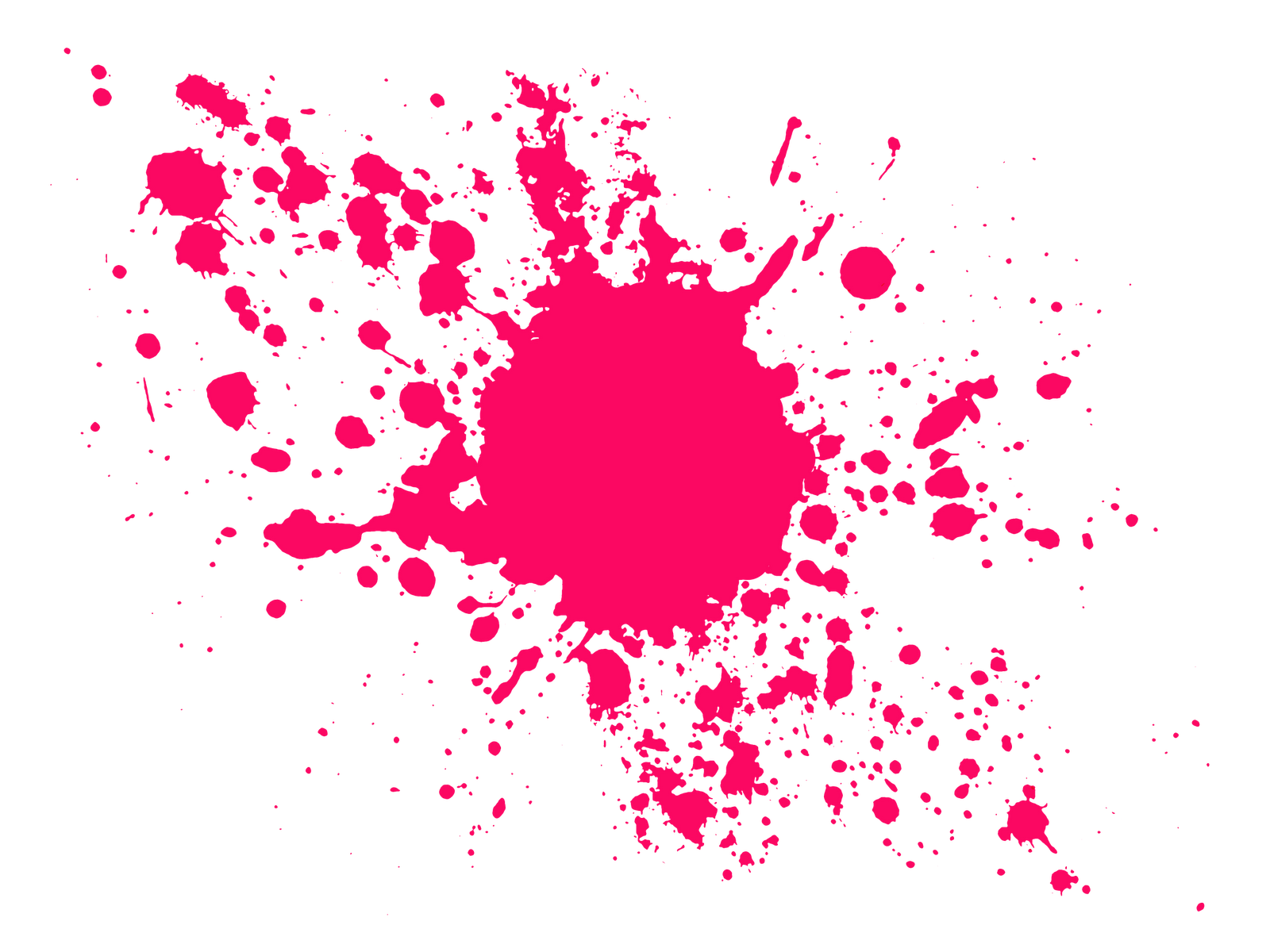 paintball clipart spatter