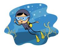 clip art clipartlook. Diving clipart water clipart