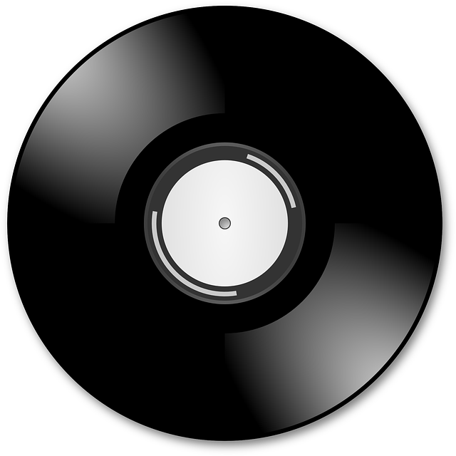 Scratching on dj controllers. Cd clipart animated