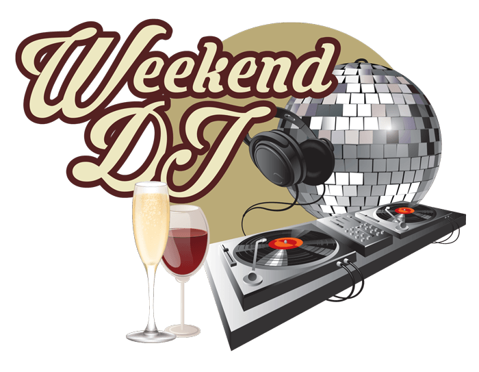 Weekend icon razzel s. Dj clipart dj dance