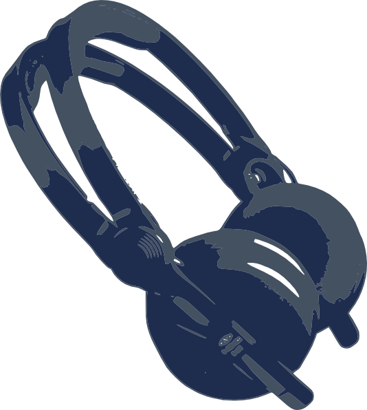 Clip art at clker. Headphones clipart dj headphone