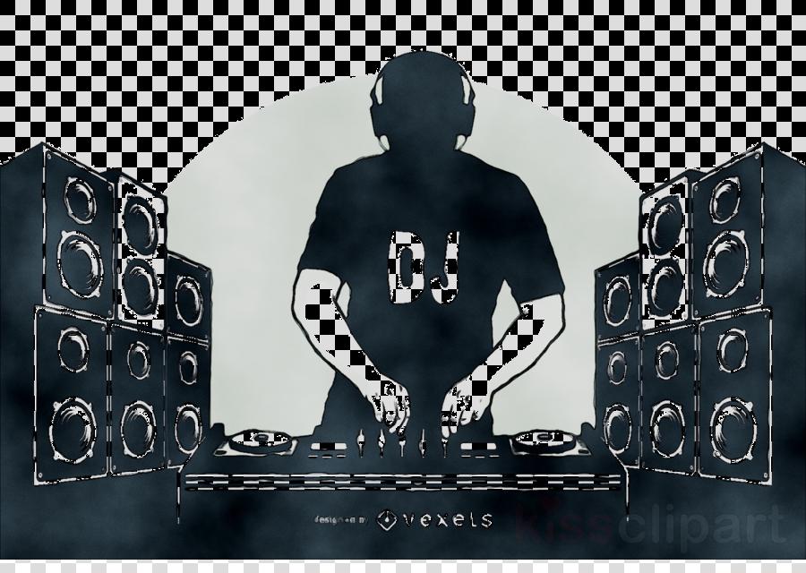 Music font technology transparent. Dj clipart dj logo