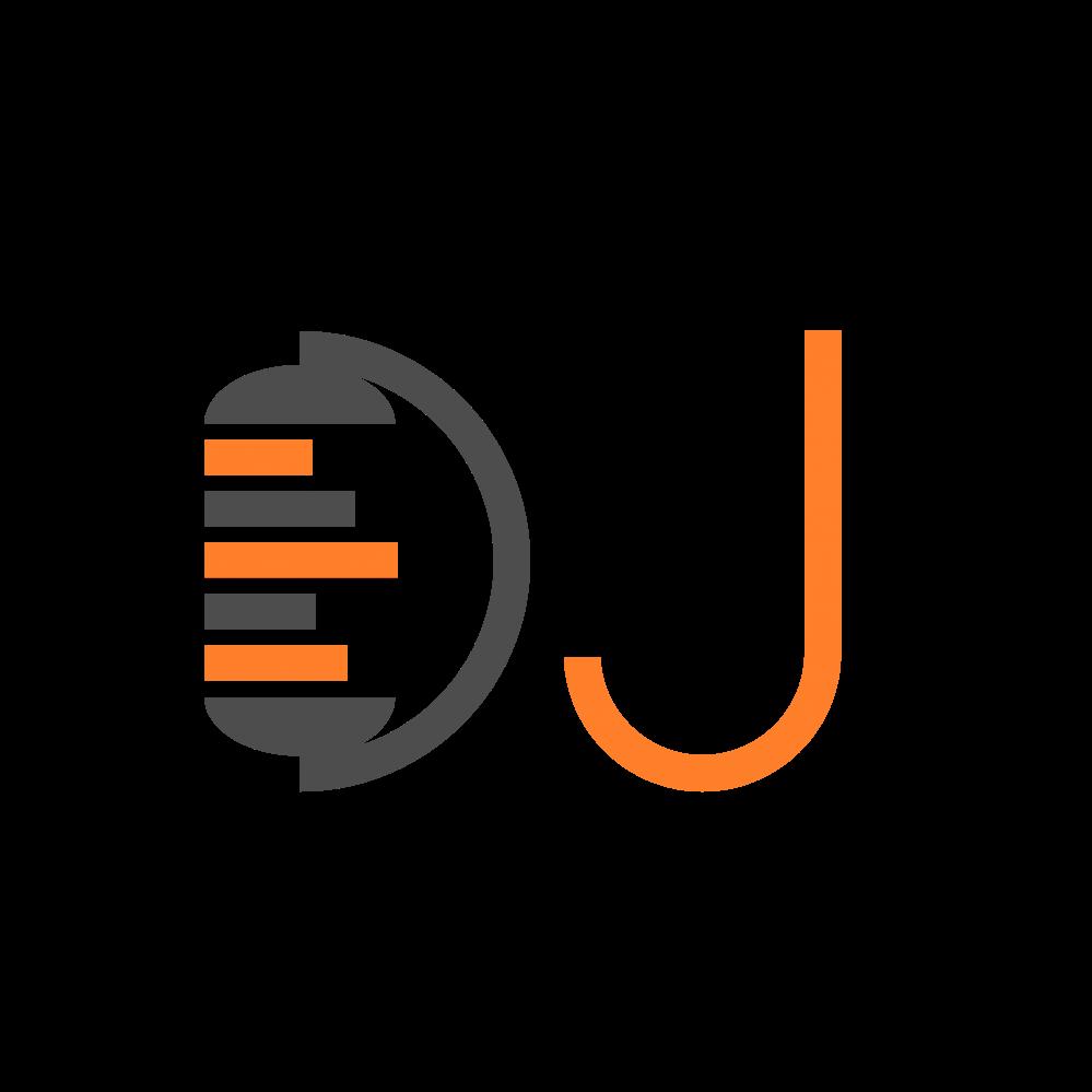 Design free elements objects. Dj clipart dj logo