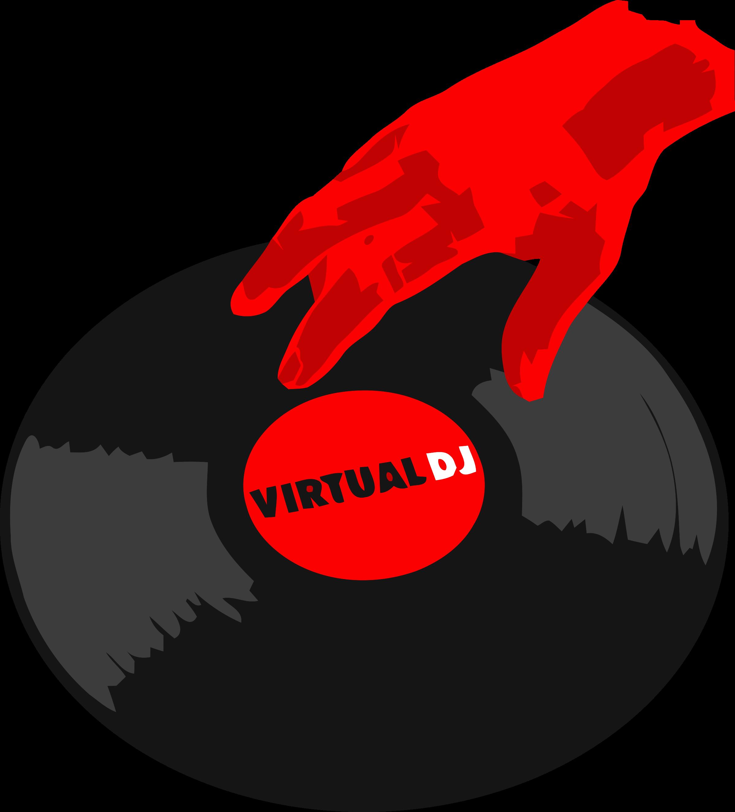 Dj clipart dj logo. Virtual png transparent svg