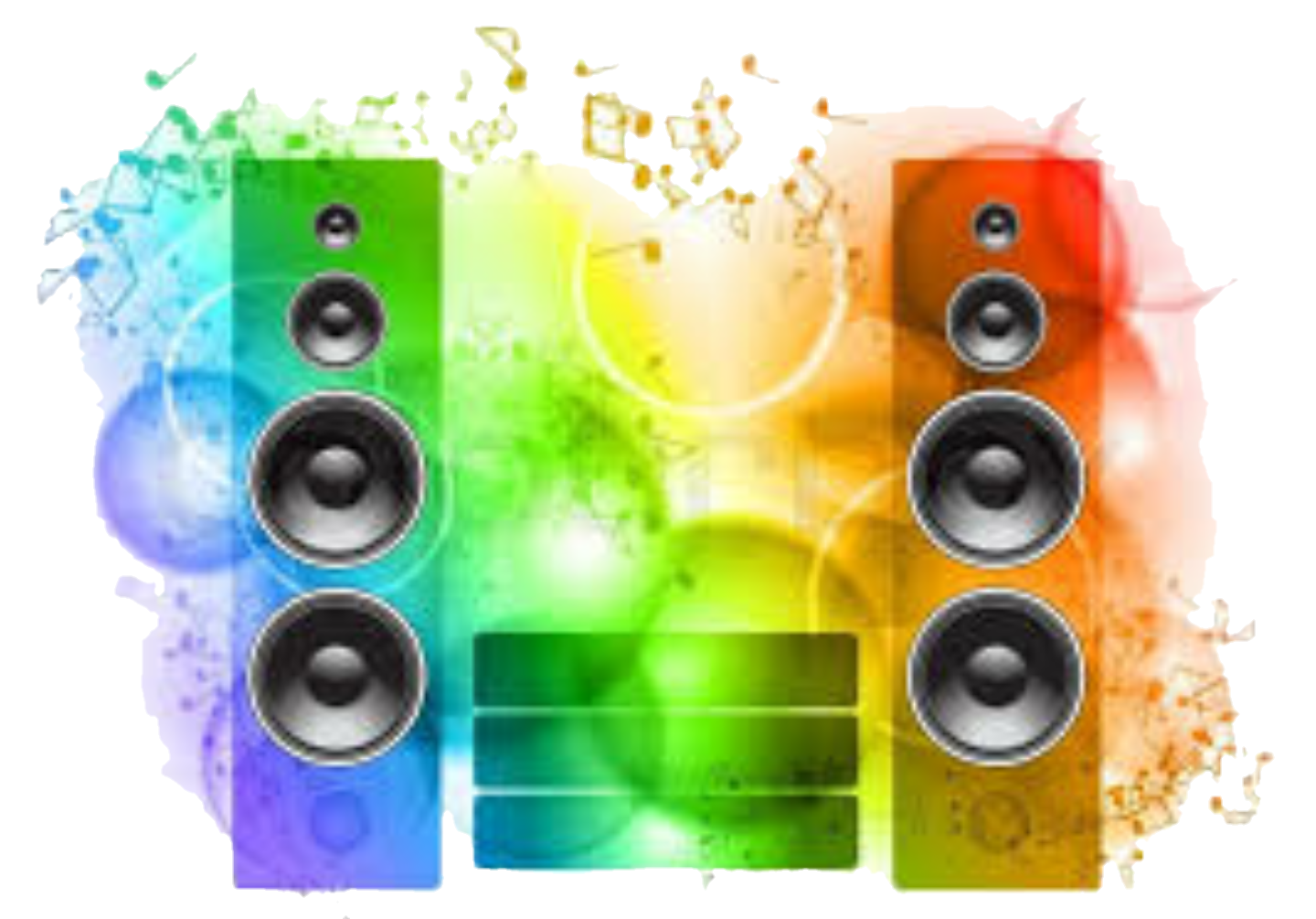 Speakers clipart dj equipment. Freetoedit sticker by issacdjritmo