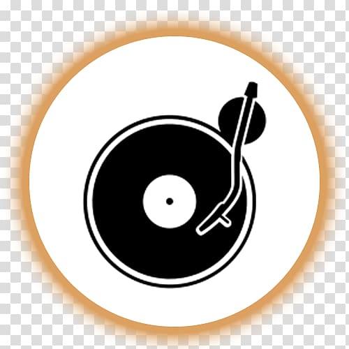 Disc jockey logo phonograph. Dj clipart dj turntable