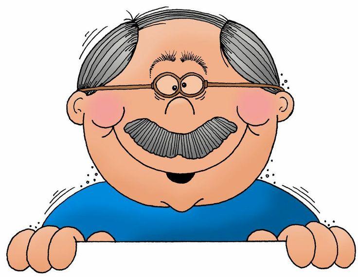 Grandma clipart head. Cartoon grandpa free download